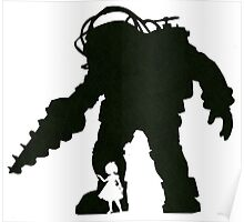 Big Daddy And Little Sister Poster