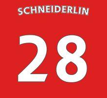 Morgan Schneiderlin Man Utd number and name t-shirt Unisex T-Shirt