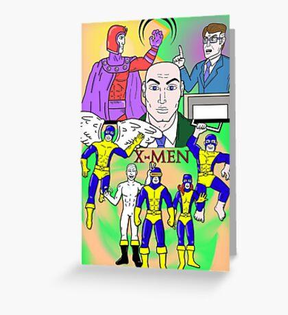 X-Men 1960s Greeting Card