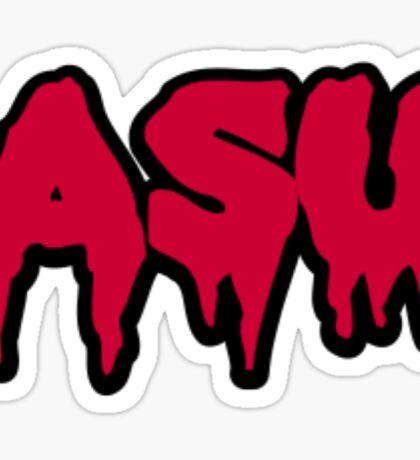 Arizona State University (ASU) Red Bubble Letter Drip Sticker