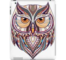 ethnic owl iPad Case/Skin