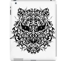 line art tiger head iPad Case/Skin
