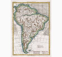 Vintage Map of South America (1780) Unisex T-Shirt