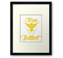 Team Instinct - Pokemon Go Framed Print