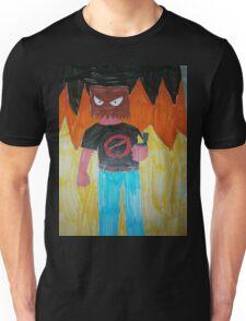 Dick McQueen-fire Unisex T-Shirt