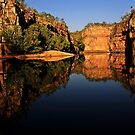 Mirror Image at Katherine Gorge by myraj