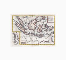 Vintage Map of Indonesia (1780) Unisex T-Shirt