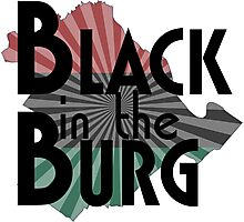 Black in the Burg Photographic Print