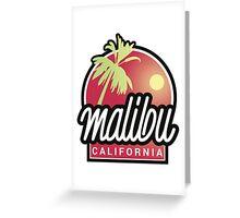 Malibu, California Greeting Card