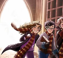 The Great Hall of Hogwarts by Timtimsia