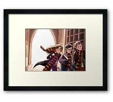 The Great Hall of Hogwarts Framed Print
