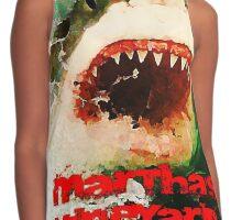Martha's Vineyard Shark Attack Contrast Tank