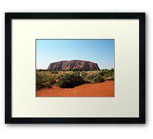 Uluru, Northern Territory Framed Print