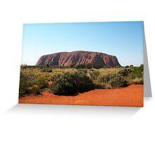 Uluru, Northern Territory Greeting Card