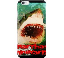 Martha's Vineyard Shark Attack iPhone Case/Skin