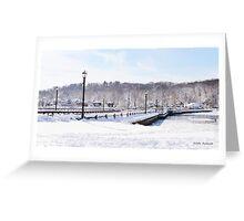 Winter Paradise  Greeting Card