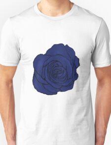 Open Blue Rose Unisex T-Shirt