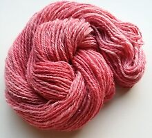 Pink Yarn by Debra Rodriguez
