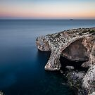 Blue Grotto, Malta by Alessio Michelini