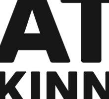 Kate McKinnon tho. (dark background) Sticker