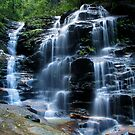 Sylvia Falls, Blue Mountains by Michael John