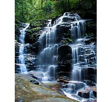 Sylvia Falls, Blue Mountains Photographic Print