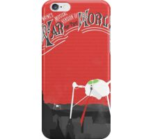The War of the Worlds Poster iPhone Case/Skin