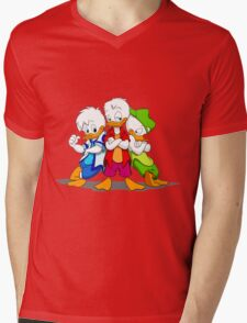 Duck Gang Mens V-Neck T-Shirt