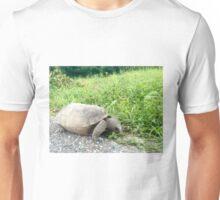 Tortoise Eating  Unisex T-Shirt