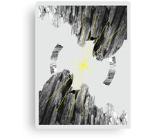 Magnetic Mountain  Canvas Print