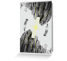 Magnetic Mountain  Greeting Card