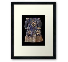 Chinese Royal Robe. Framed Print