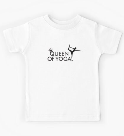 Queen of yoga Kids Tee