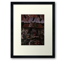 Reproduction of puzzle Framed Print