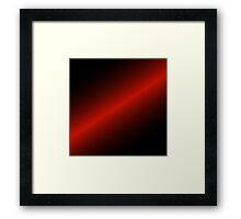 Lightsaber style colouring Framed Print