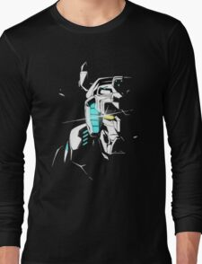 Voltron Shadowed Face Long Sleeve T-Shirt
