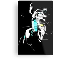 Voltron Shadowed Face Metal Print