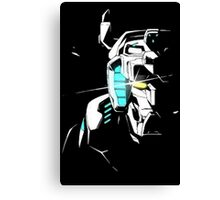 Voltron Shadowed Face Canvas Print