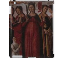 A poster of the puzzle iPad Case/Skin