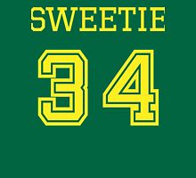 Sweetie 34 - Vintage Retro College Football Sport Team Design For Clothing and Gifts Unisex T-Shirt