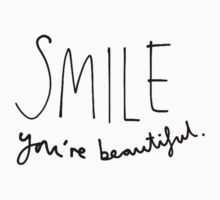Smile, You're Beautiful Kids Clothes