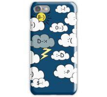 Emoticlouds iPhone Case/Skin