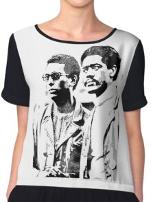 Stokely Carmichael and Bobby Seale Chiffon Top