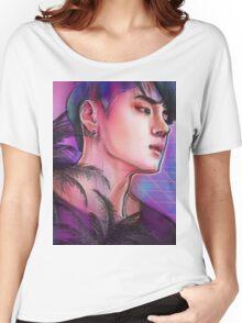 H Δ L F M O O N | DΞΔN  Women's Relaxed Fit T-Shirt