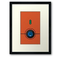 Johto Pokedex Phone Case - Heartgold/Soulsilver Edition Framed Print