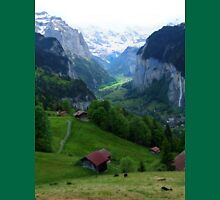 Lauterbrunnen, Late Afternoon Unisex T-Shirt