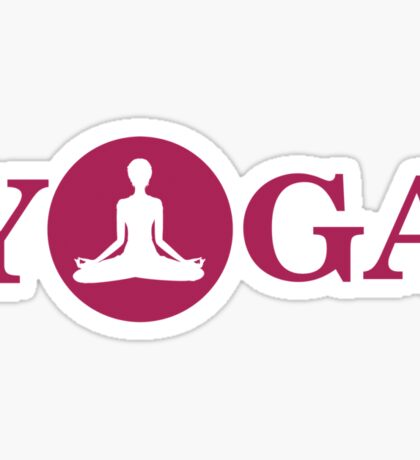 Yoga Sticker