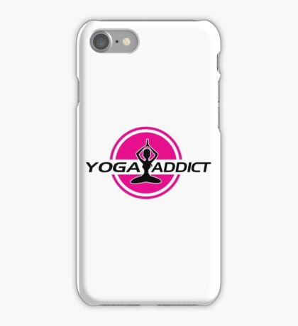 Yoga addict iPhone Case/Skin