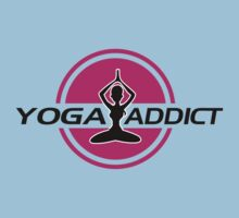 Yoga addict Kids Tee