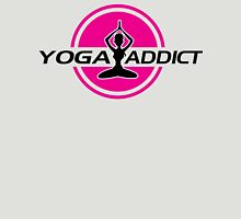 Yoga addict Womens Fitted T-Shirt